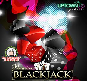 Uptown Aces Casino Blackjack No Deposit Bonus  redmoongames.com